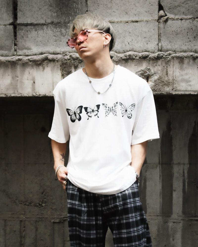 《2色》バタフライ13Tシャツの画像3